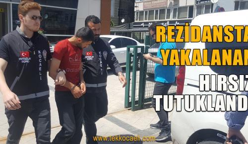 Lüks Rezidansta Yakalanan Hırsız Tutuklandı