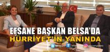 Sefa Sirmen'den Başkan Hürriyet'e Ziyaret