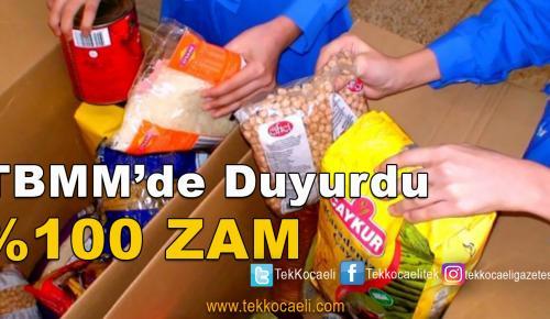 Ramazan Paketine Büyük Zam