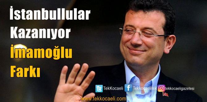 Ekrem İmamoğlu'yla İstanbullular Bakın Nasıl Kazandı