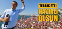 İmamoğlu'na İlk Tebrik Ak Parti'li Vekilden