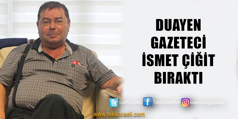 Özgür Kocaeli Gazetesi'ne Veda Etti