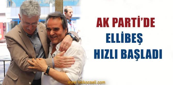 Mehmet Ellibeş'ten İzmit'te Ziyaretler