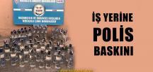 Büfeye Polis Baskını