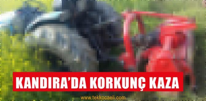 Traktörün Altında Kalan Kadın Can Verdi