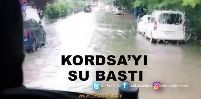 Kordsa'yı Su Bastı
