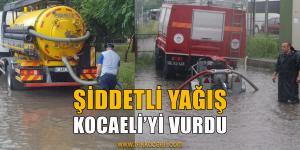Kocaeli'de Su Baskınları Yaşandı