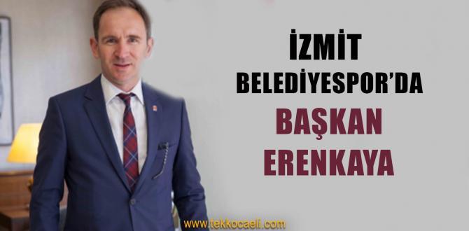 İzmit Belediyespor'da Başkan Erenkaya