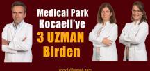 WM Medical Park Kocaeli Hastanesi'ne 3 Yeni Uzman