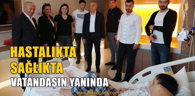 Hürriyet'ten Hasta Ziyaretleri