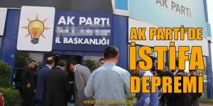 Ak Parti'den Babacan'a Destek İçin İstifa Ettiler