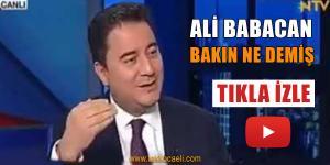 Bakın Ali Babacan 2015 Ekim Ayında Ne Demiş