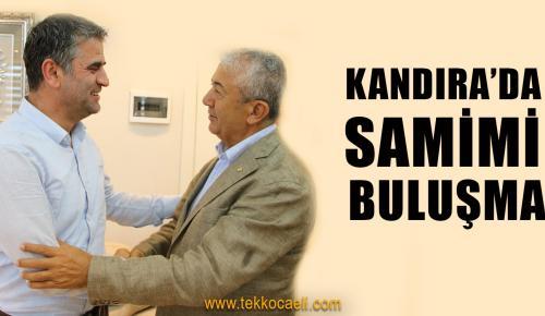 CHP'lilerden, Kandıra Belediye Başkanı Turan'a Ziyaret