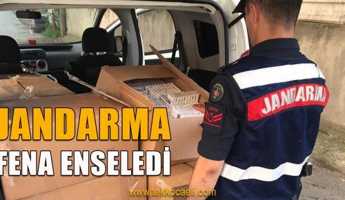 Jandarma'dan Nefes Kesen Operasyon
