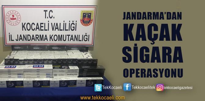 TIR'dan Yüzlerce Paket Kaçak Sigara Çıktı
