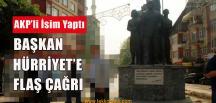 AKP'li İsimden Başkan Hürriyet'e Çağrı