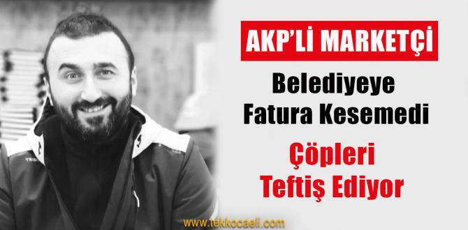 AKP'li Marketçi, Çöpleri Görünce Çok Sevinmiş!