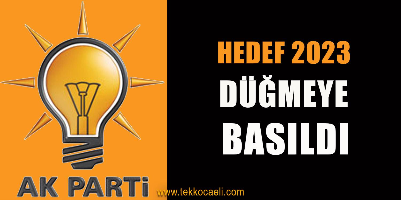 AKP'de 2023 Kararları