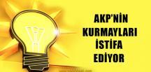 AKP'de İstifalar Devam Ediyor