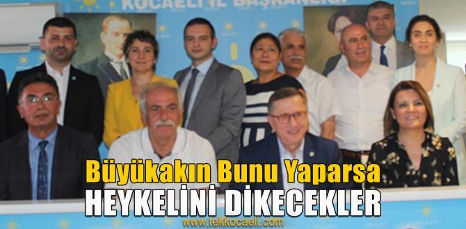 İYİ PARTİ'de Türkkan ve Durmuş'lu Bayramlaşma