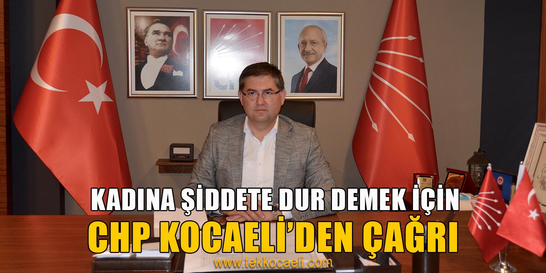 CHP Kocaeli'den Flaş Çağrı