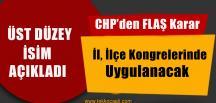 CHP, Parti Örgütü Yenilenmeye Gidiyor