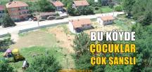 Kandıra'nın Hacımazlı Köyü'nde Çocuklar Çok Şanslı
