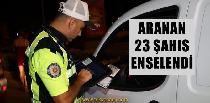 Ülke Genelinde 'Huzur ve Trafik Uygulaması' Yapıldı
