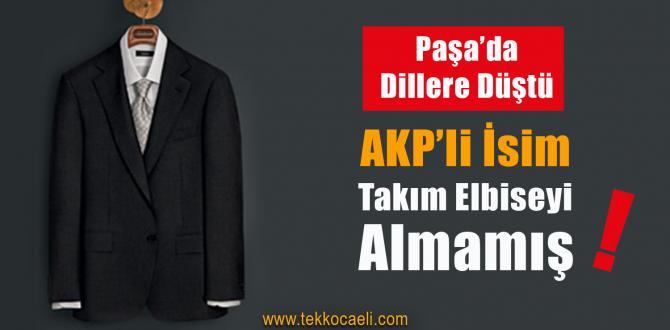 AKP'li İsim, Takım Elbise Sözünü Tutmamış!
