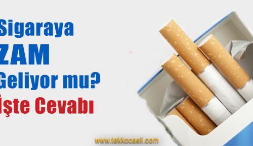 Sigaraya Yine mi Zam Geliyor