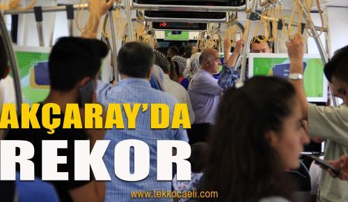 Akçaray Rekor Tazeledi