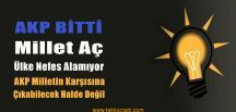 AKP Bitti Dedi, Erken Seçim Çağrısı Yaptı