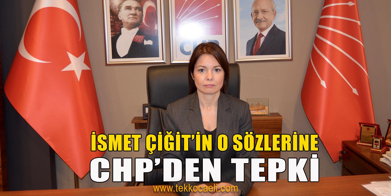CHP Kocaeli, İsmet Çiğit'i Kınadı