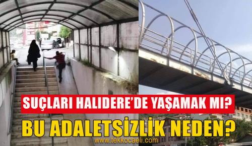Halıdereliler Haykırıyor; Suçumuz Halıdere'de Yaşamak mı?