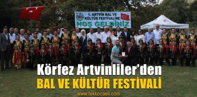 Artvinliler Bal Festivalinde Coştu