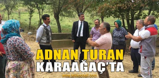 Kandıra'nın Başkanı Karaağaç'ta Vatandaşı Dinledi