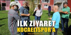 Kocaelispor'a Sürpriz Ziyaret