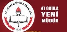 Kocaeli'de 47 Okula Yeni Müdür Atandı