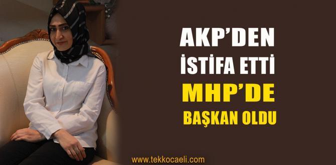 MHP Kadın Kolu Başkanı Değişti