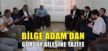 Temel Karamollaoğlu'ndan, Gürsoy Ailesine Taziye Ziyareti