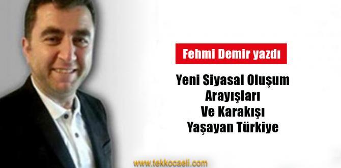 Yeni Siyasal Oluşum Arayışları ve Karakış'ı Yaşayan Türkiye