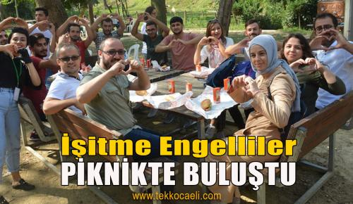 İzmit Belediyesi, İşitme Engellileri Piknikte Buluşturdu