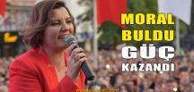 Fatma Kaplan Hürriyet Moral Buldu, Güç Kazandı