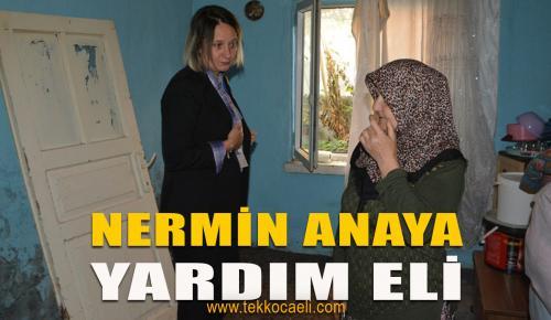 İzmit Belediyesi, Nermin Anaya Yardım Eli Uzattı