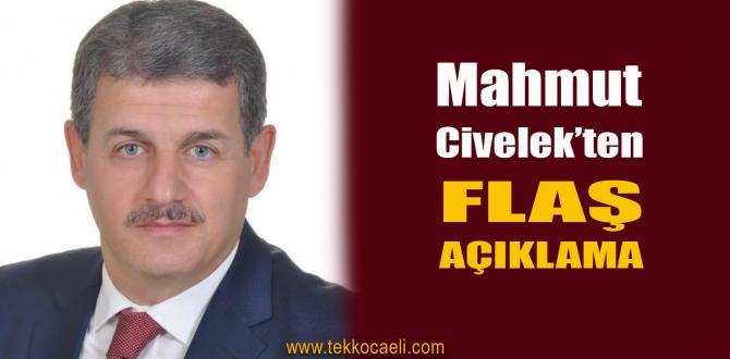 Mahmut Civelek, İddialara cevap Verdi