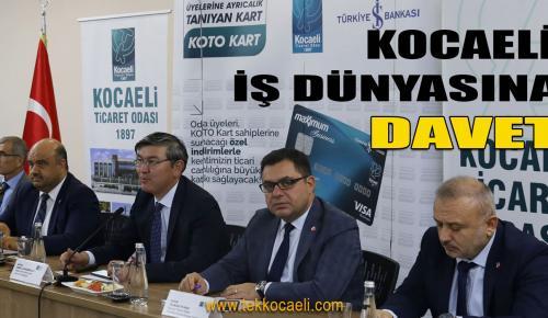 Kazakistan'a İş ve Yatırım Fırsatları KOTO'da Anlatıldı