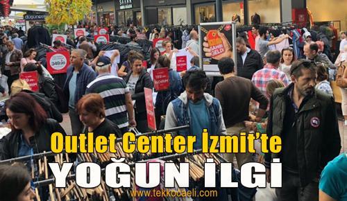Outlet Center İzmit Ucuzluk Panayırına Yoğun İlgi