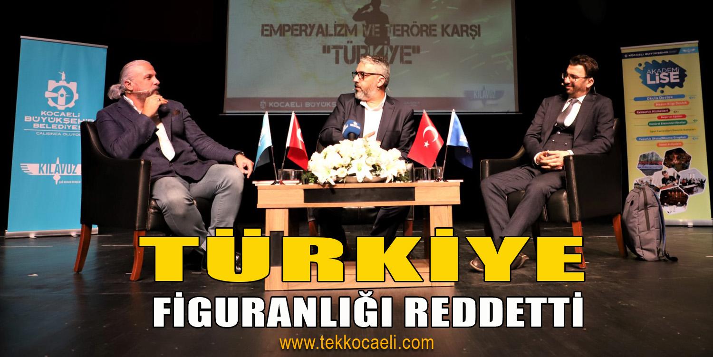 'Emperyalizme ve Teröre Karşı Türkiye' Temalı Söyleşi Düzenlendi