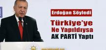 Cumhurbaşkanı Erdoğan'dan Flaş Sözler