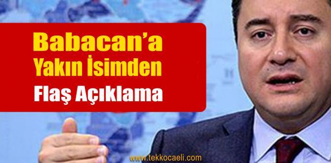 Ali Babacan Kanadından İttifak Açıklaması